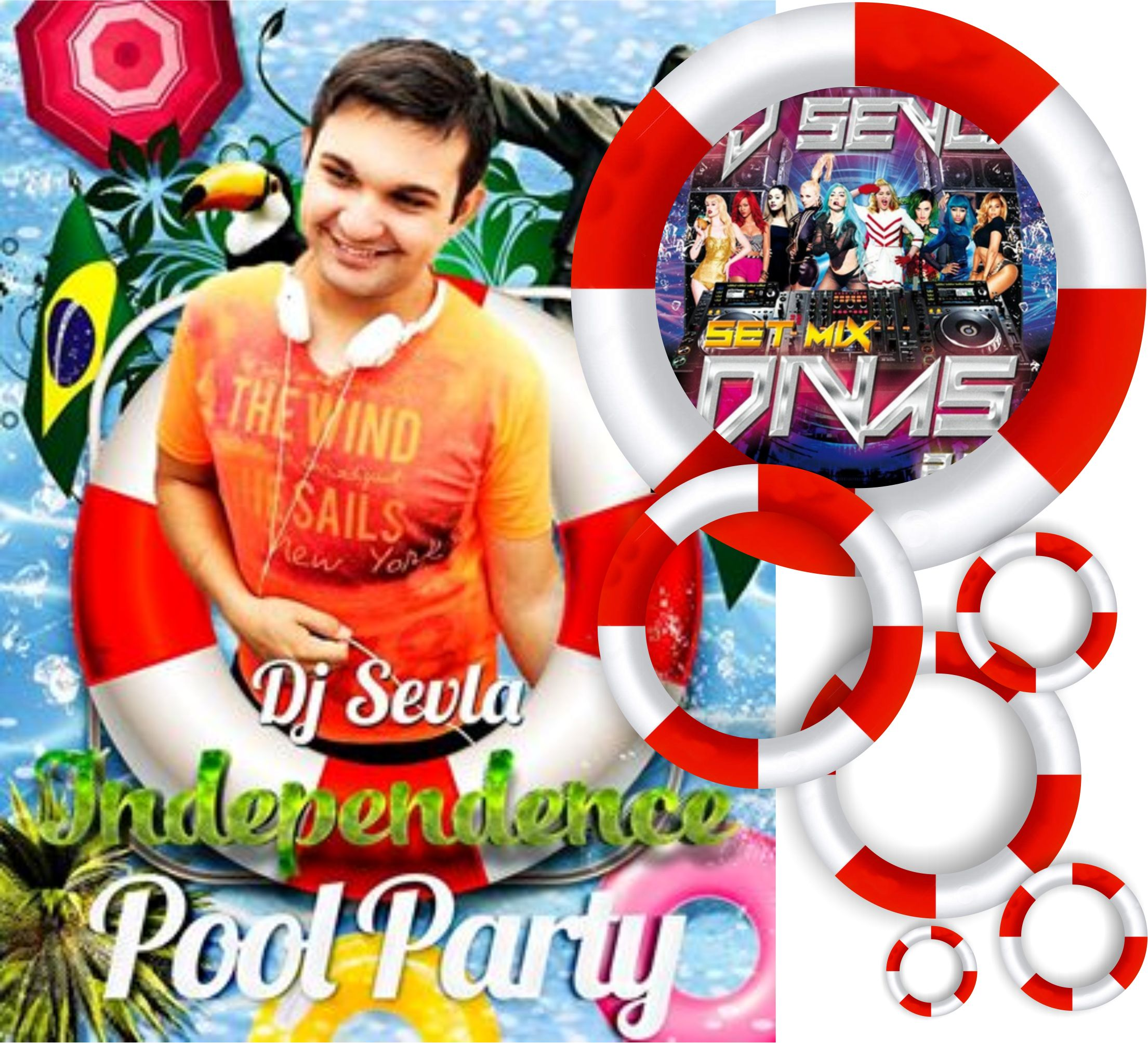 Calor ferve o e muita dance music na independence pool for Tribal house music 2015